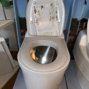 incinerator toilet Africa to burn